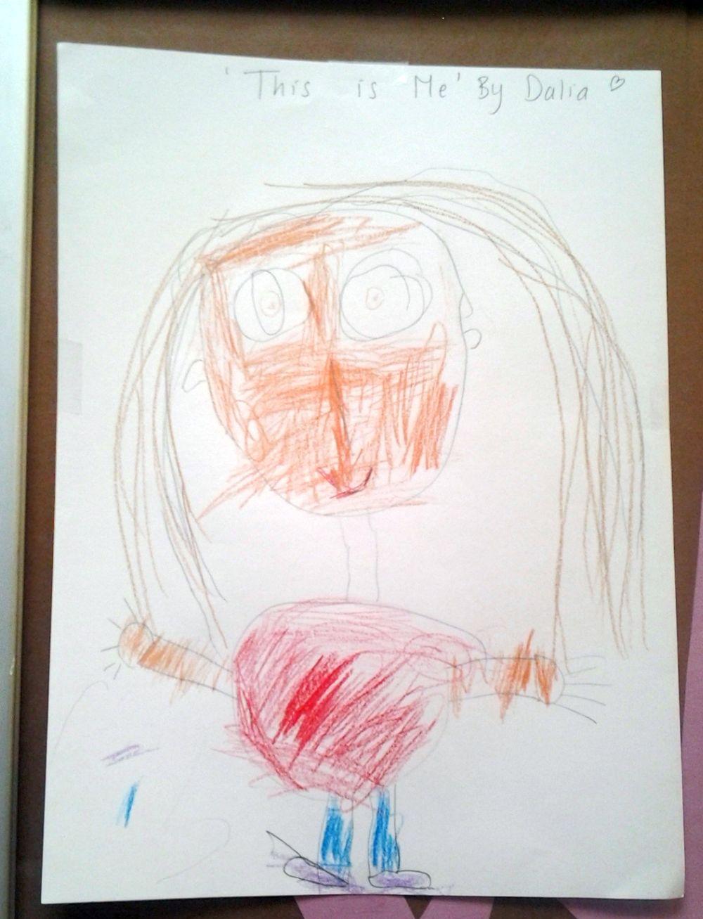 Przedszkolna galeria - autoportret
