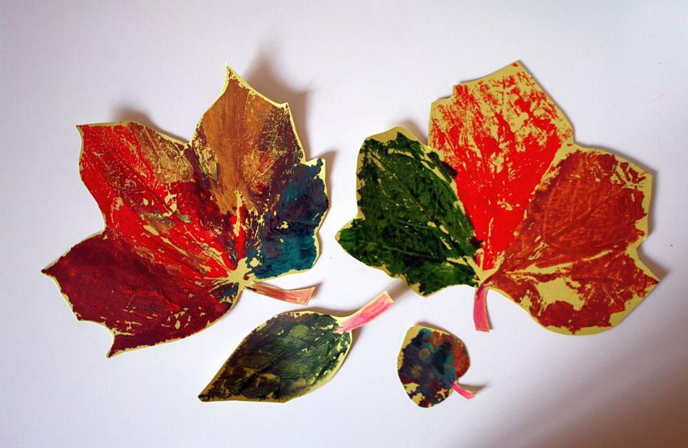 Moje jesienne liście