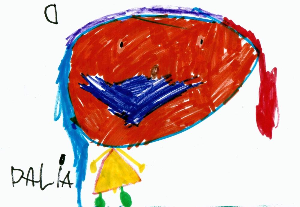 Dalia autoportret