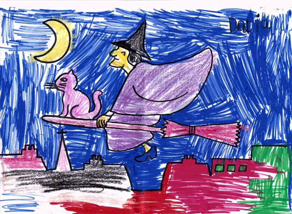 Obrazek na Halloween