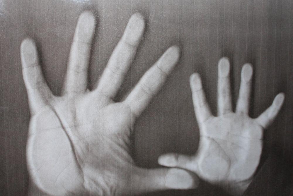Ręka mamy i moja :-)