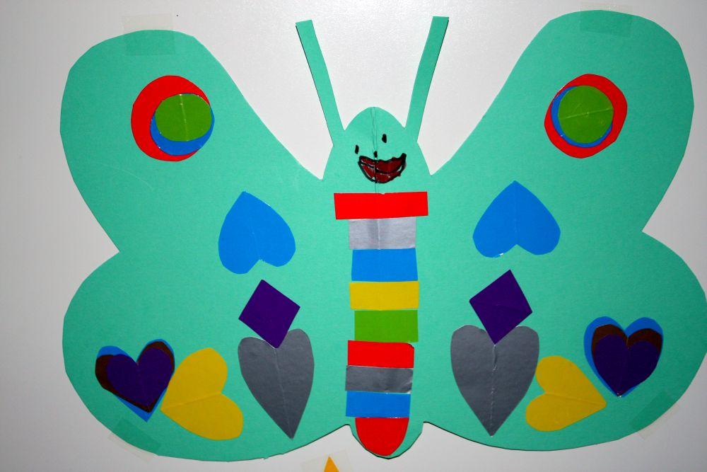 Mój symetryczny motylek
