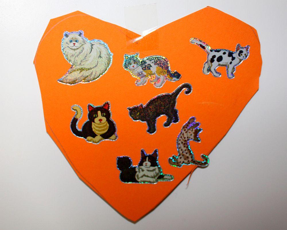 Walentynki - kotki