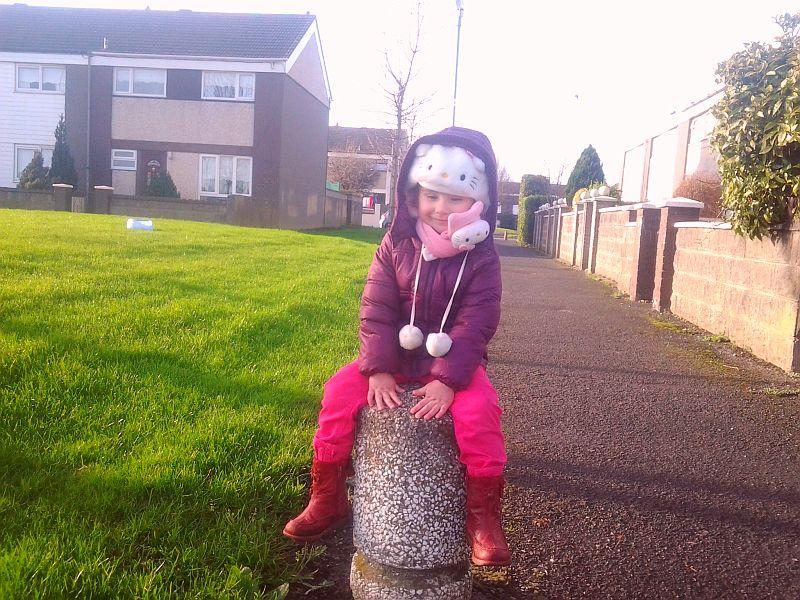 A po przedszkolu spacer na plac zabaw