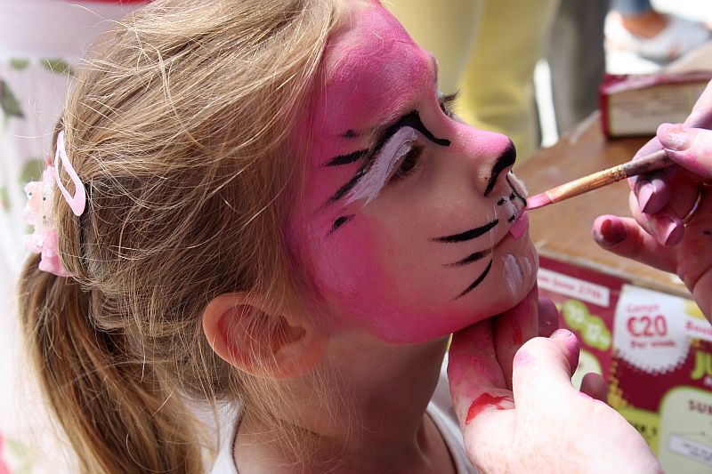 Face painting - Pink Cat
