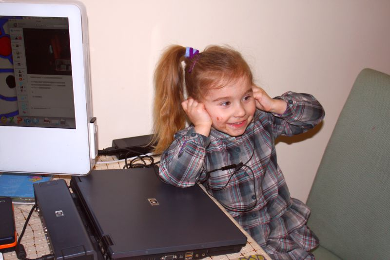 Czekoladowy Bambo i Skype