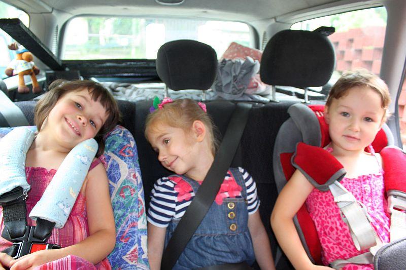 3 Gracje w samochodzie :-)