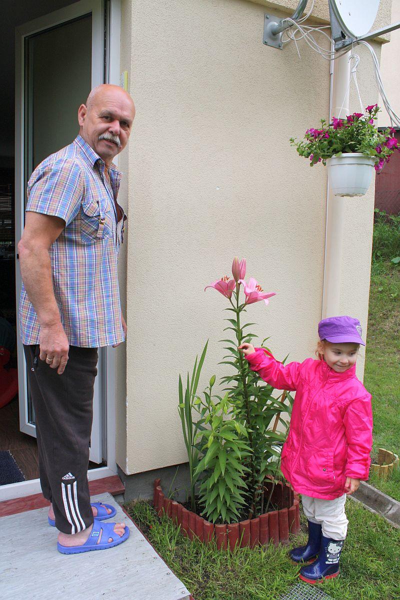 Z dziadkiem Tadkiem