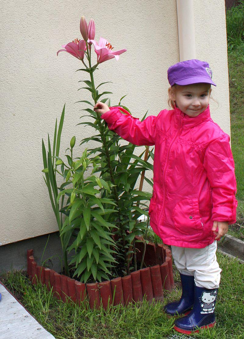 Z pięknym kwiatkiem ;-)