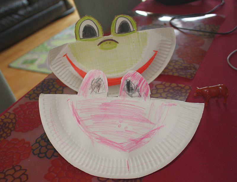 Żaba-mama, żaba-dziewczynka :-)