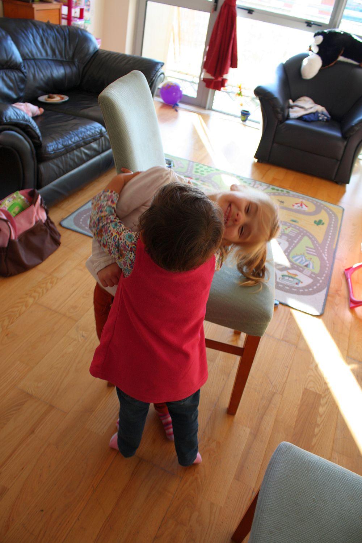 Przytulaki z małą Amy