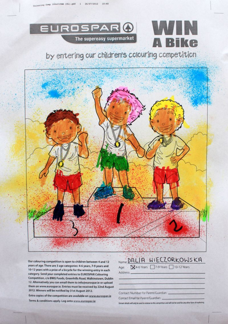 Konkursowy rysunek