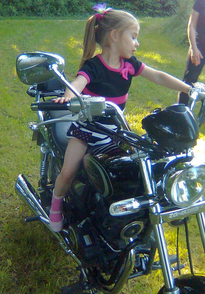 Dalia na motorze!