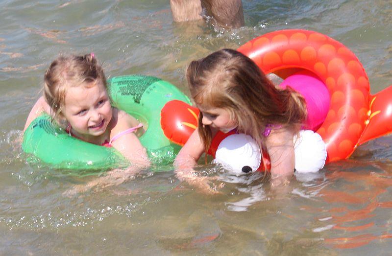 Pływamy z Michaliną