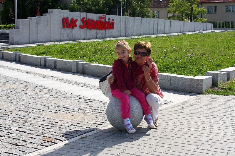 Ja z babcią Elą z Olsztyna