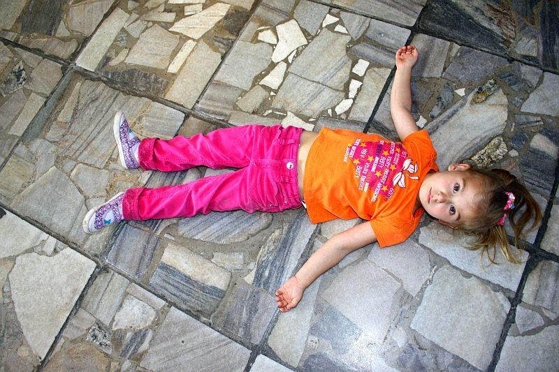 Podłoga w Olsztyńskim Planetarium