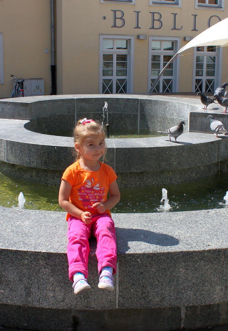 Na starym mieście w Olsztynie