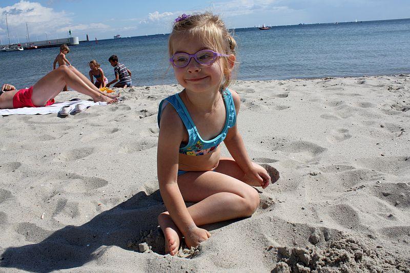 Na plaży fajnie jest :-)