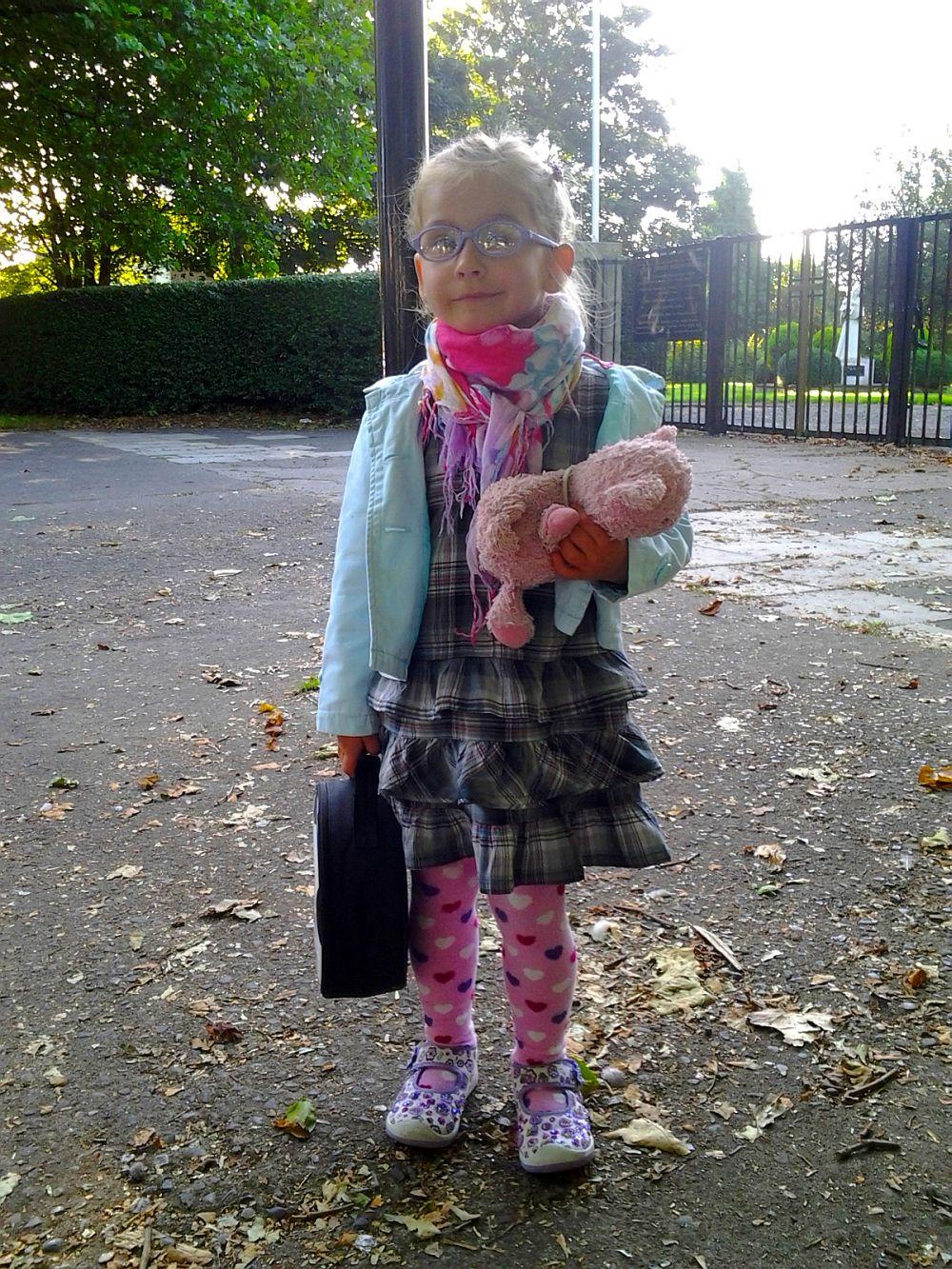 Poranek...w drodze do przedszkola