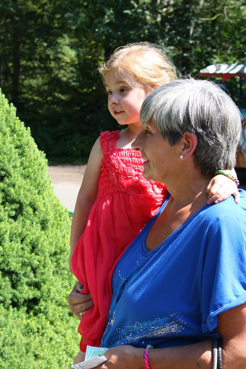 Z babcią Ewą