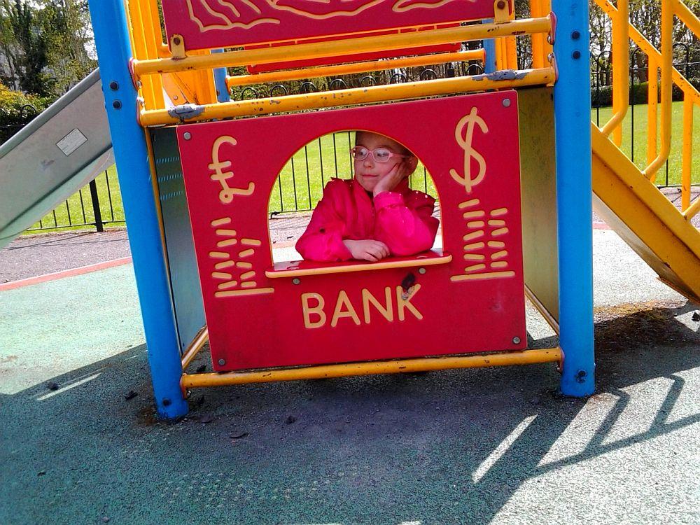 Jak pracuje Pani w Banku...