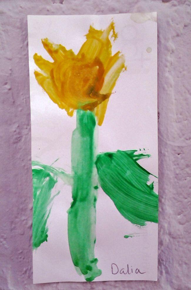 Galeria z przedszkola: Daffodil/Żonkil