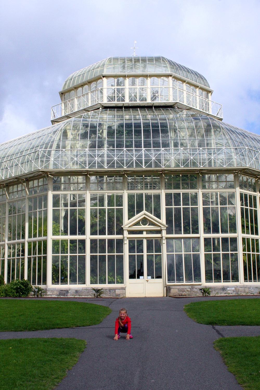 Spacer w Botanic Garden