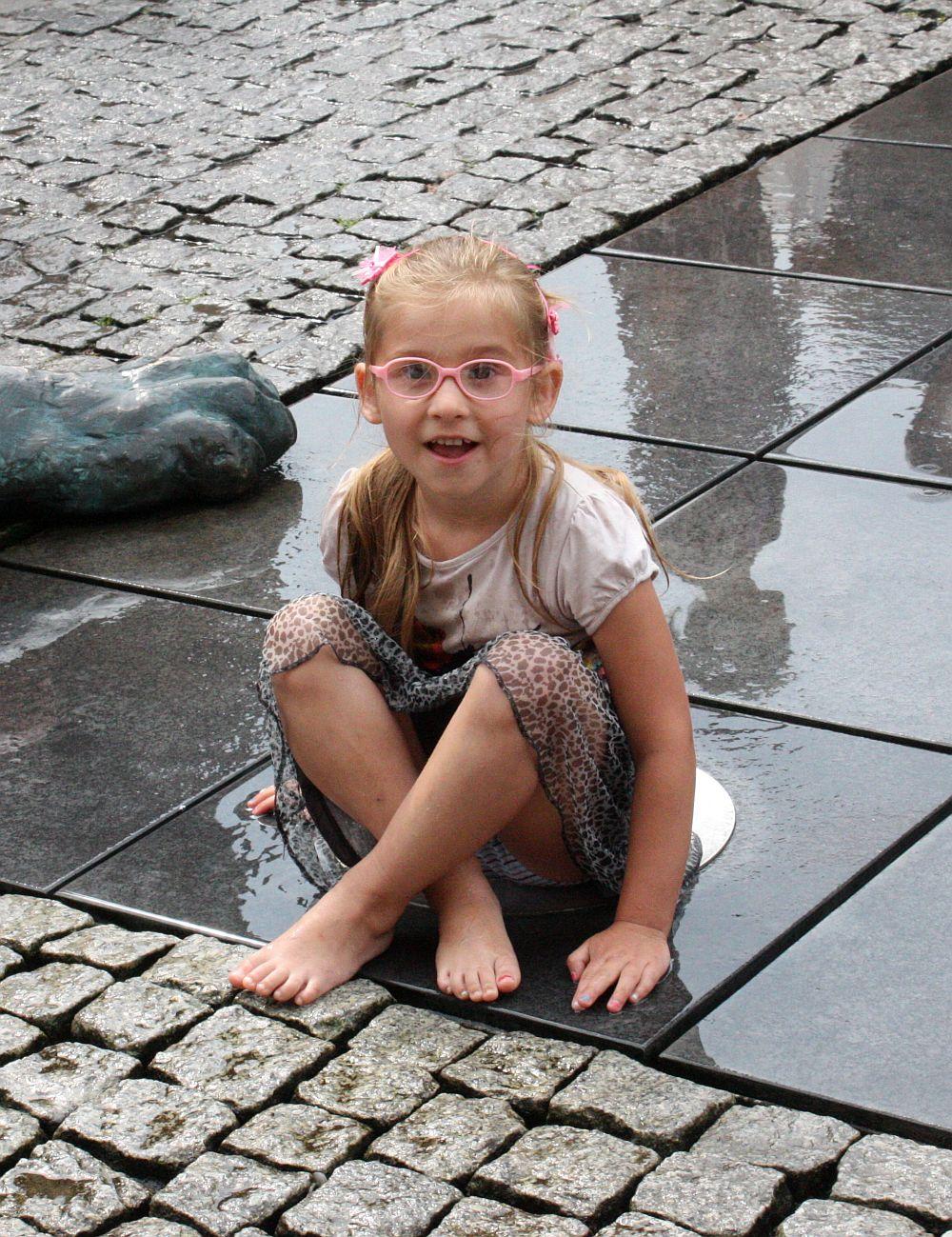 Gdańskie fontanny i Ja