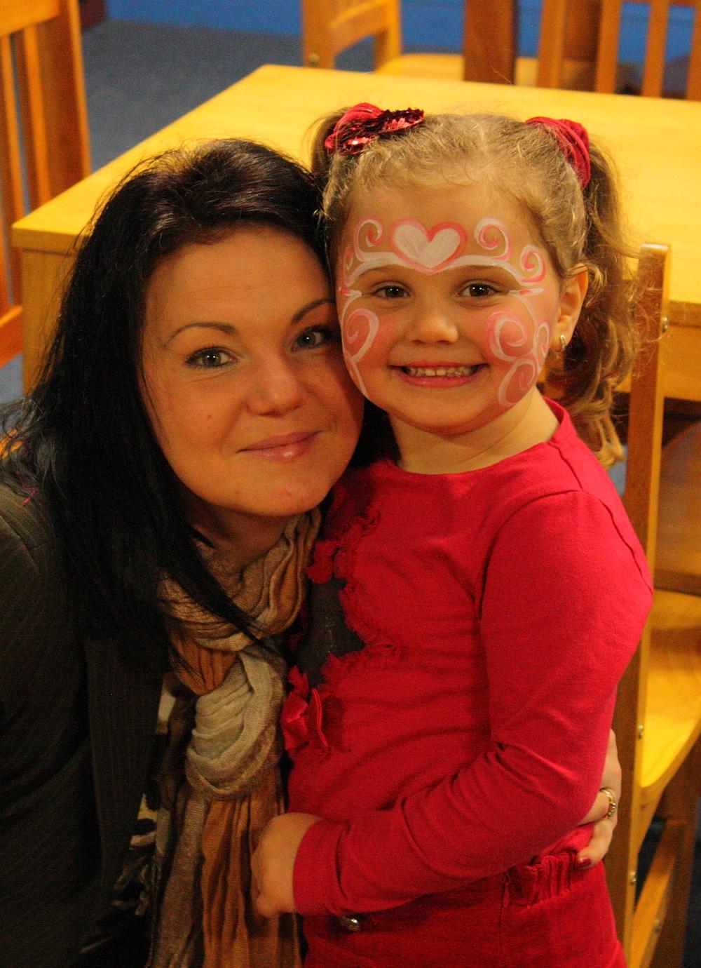 Moje 5 urodziny - Dominika z mamą