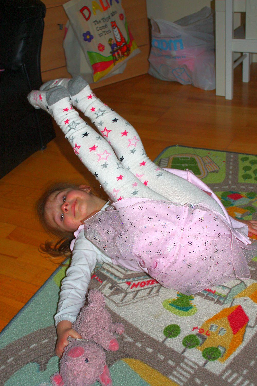 Po pierwszej lekcji baletu