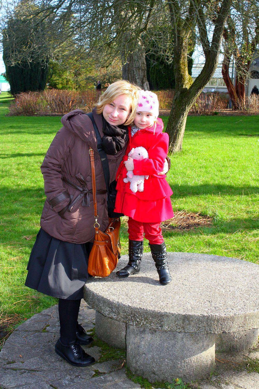 Botanic Garden: z mamą