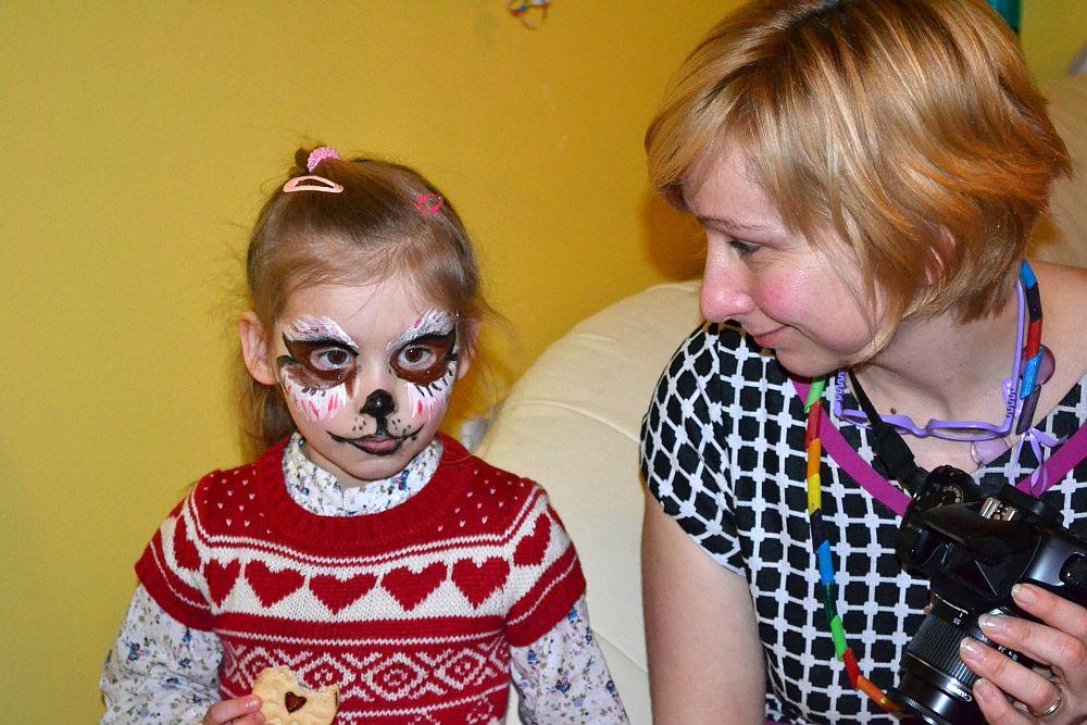Urodziny Nicoli: ja i mama