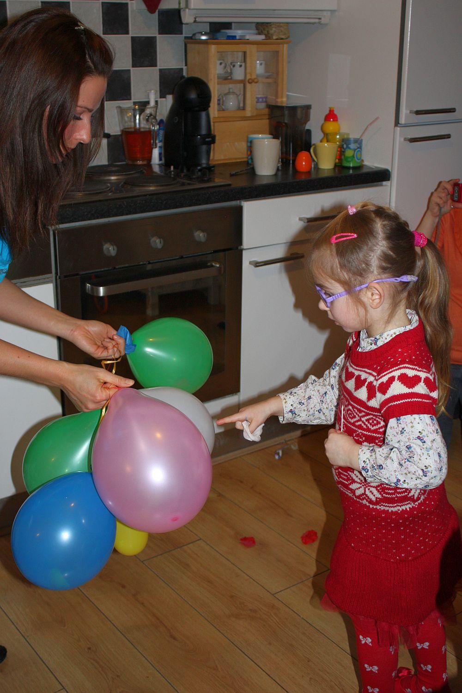 Urodziny Nicoli: zabawy