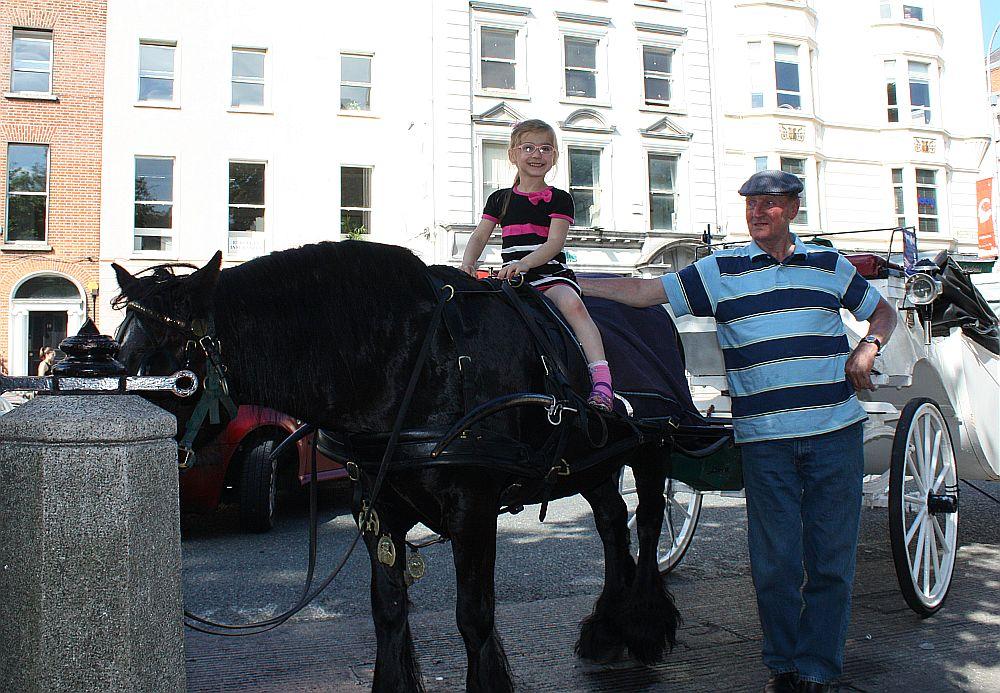 Dalia na koniu