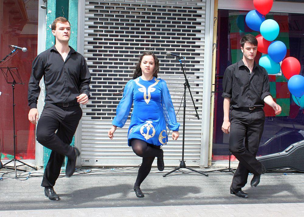 Pokaz tańca irlandzkiego
