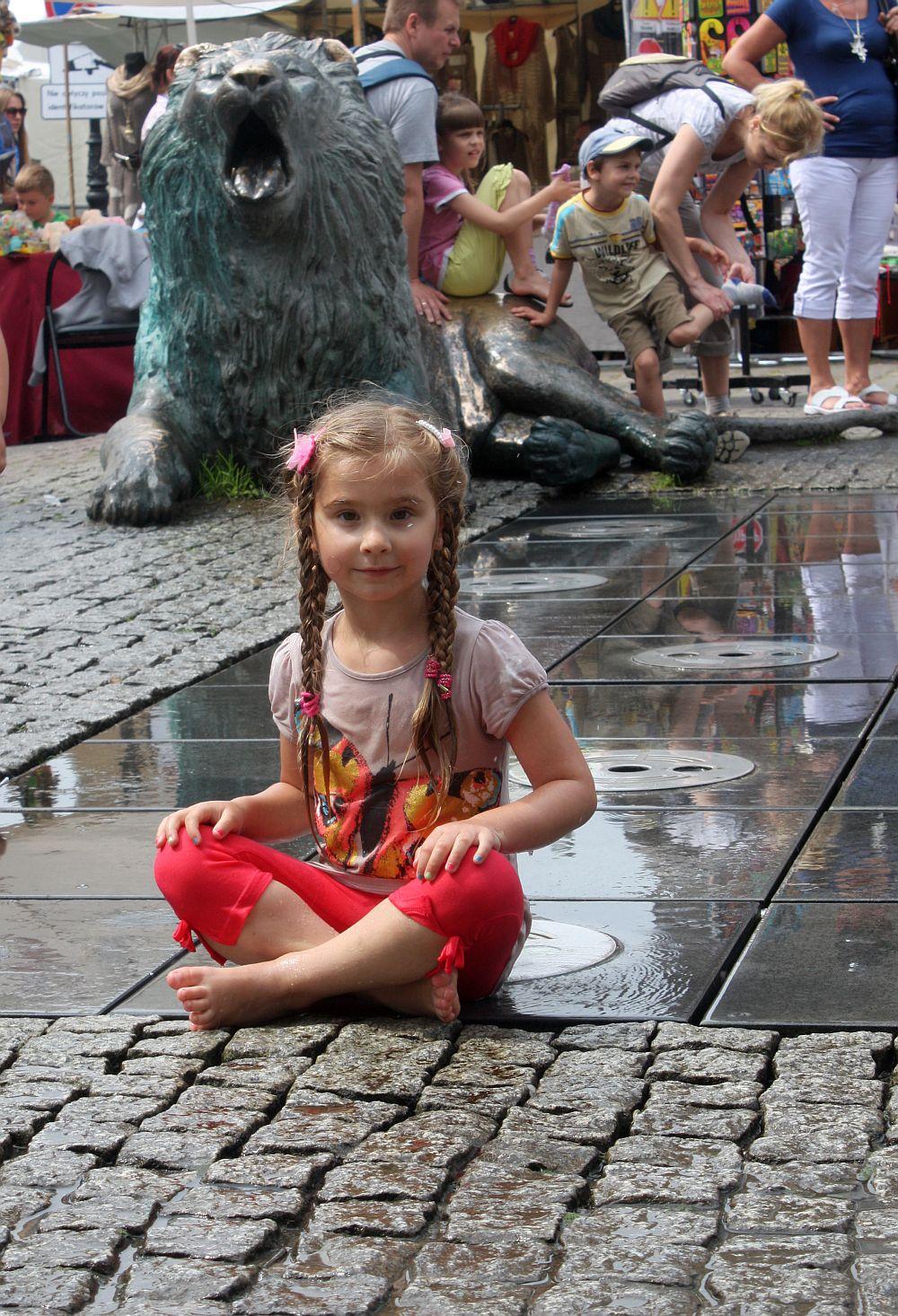 Gdańskie fontanny