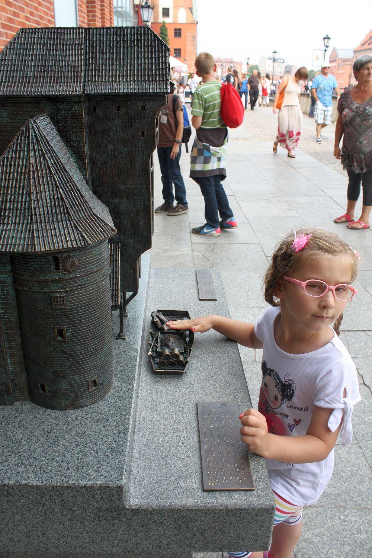 Miniatura Żurawia w Gdańsku