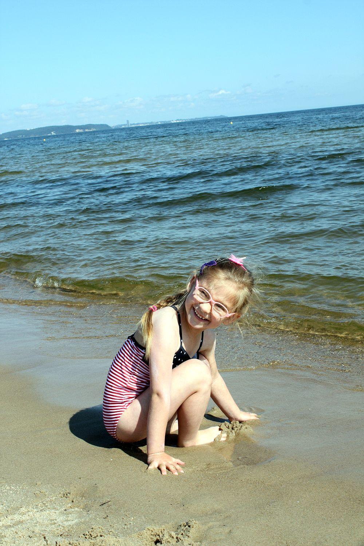 Na plaży fajnie jest!