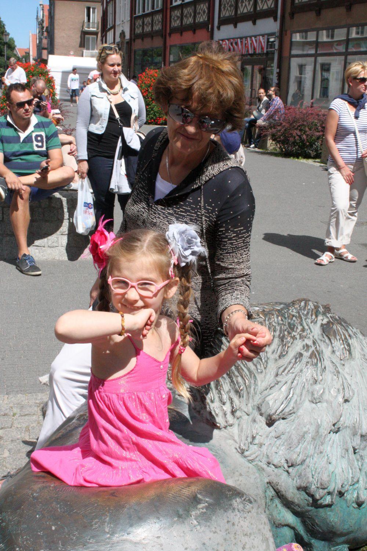 Z babcią Elą w Gdańsku