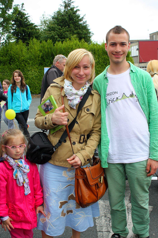 Dalia, mama i Jaś Mela