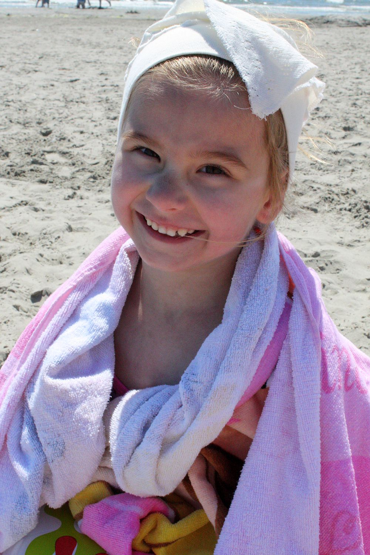 Radość na plaży