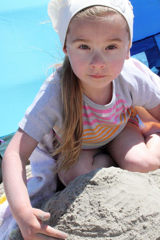 Buduję zamek z piasku