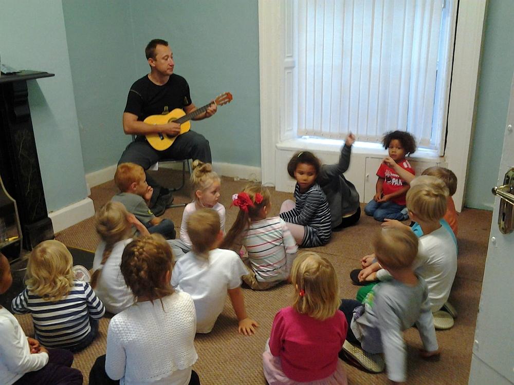 Na lekcjach muzyki