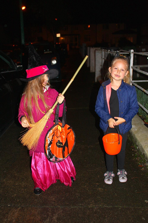 Dalia i Amelka na Halloween