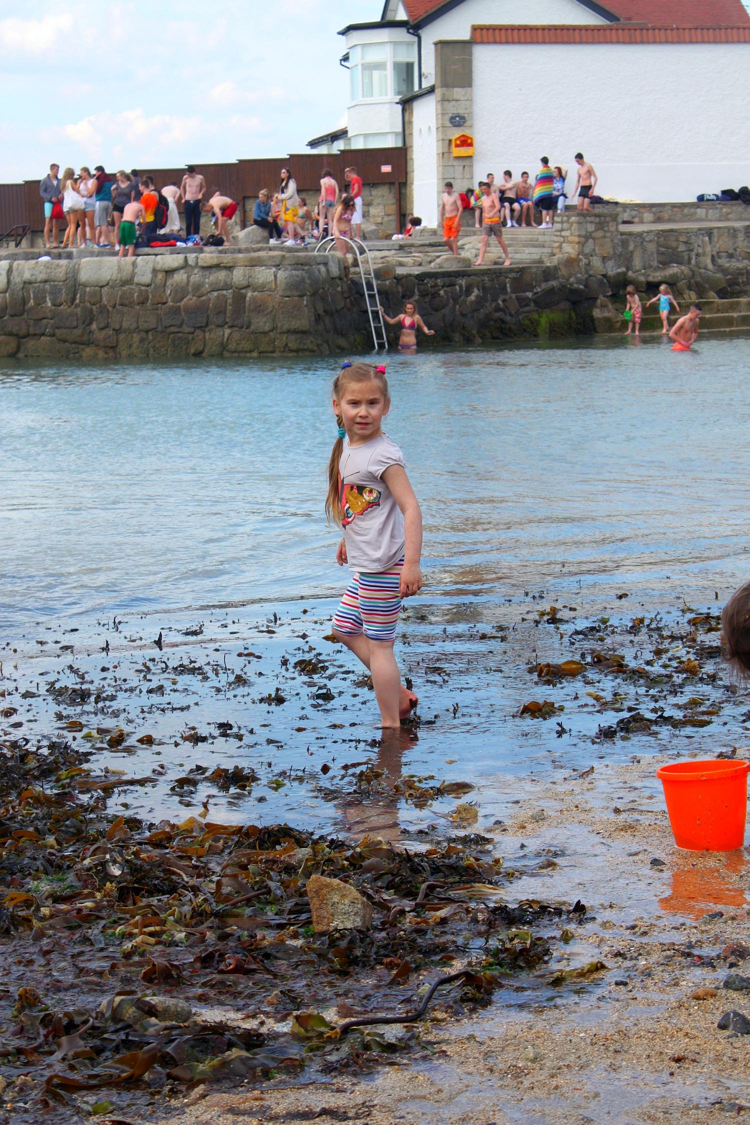 Odpływ w Dún Laoghaire