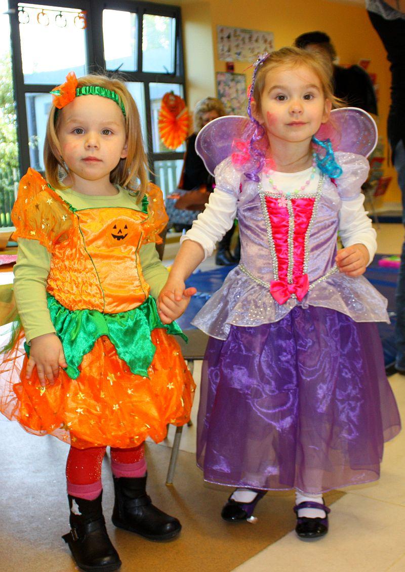 Princess-Fairy and Pumpkin Princess