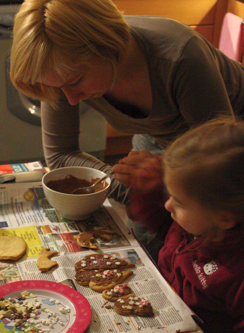 Dekorujemy z mamą ciastka