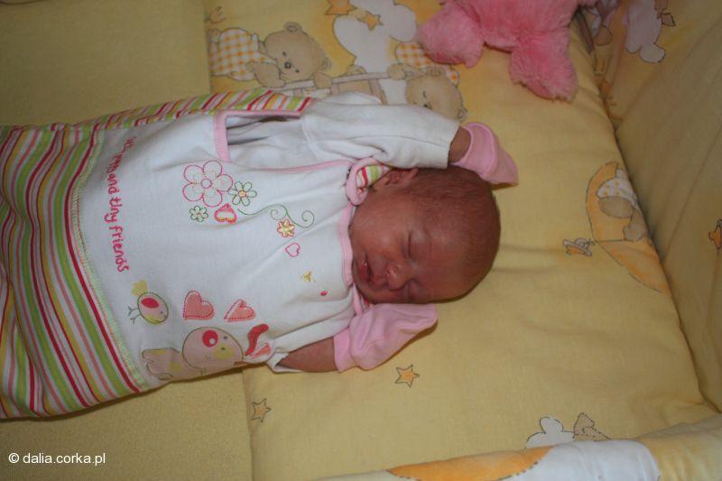 Bardzo lubię spać - mam to po mamie i tacie :-)