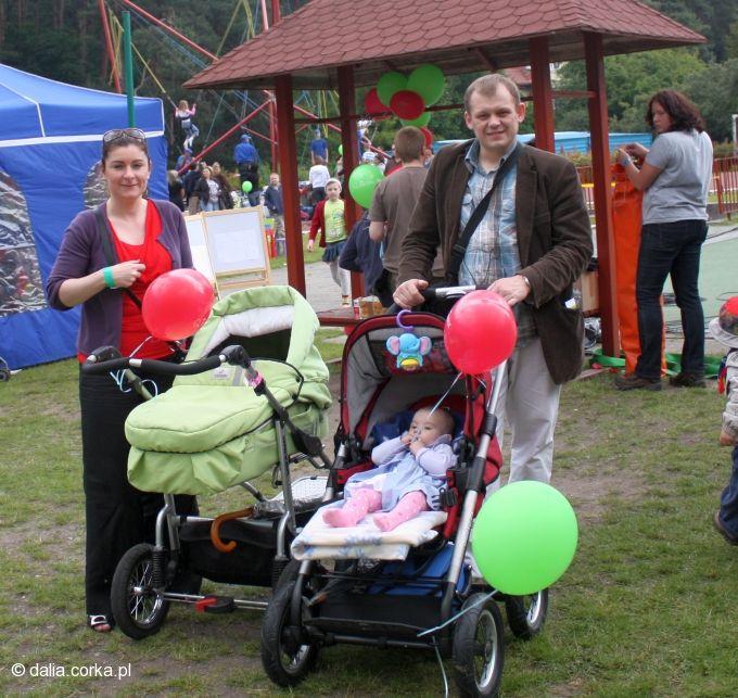 Piknik :-) ja z tatą i ciocia Paula z Wercią