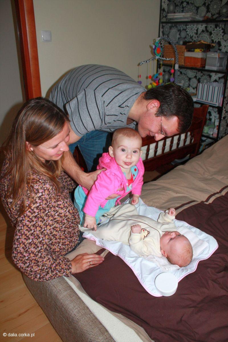 Ja z Anią, ciocią i wujkiem